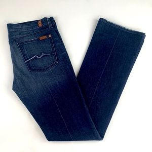 7 for All Mankind Bootcut Low Rise Jeans 29 X 34